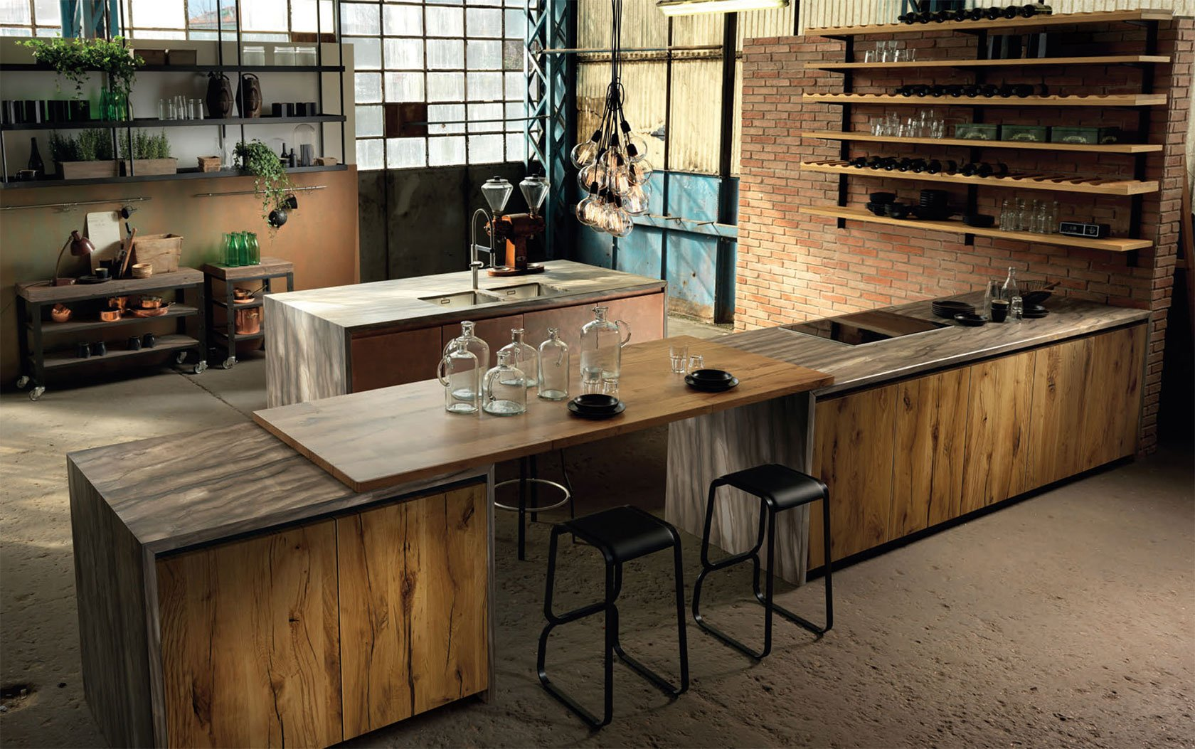 Modern Kitchens Without Handles - Four Seasons Fitted ...
