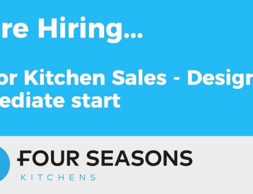We're Hiring –  Senior Kitchen Sales – Designer