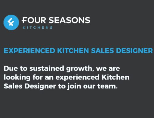 We're Hiring –  Experienced Kitchen Sales Designer