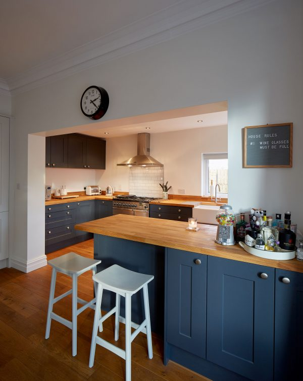 shaker fitted kitchen roundhay