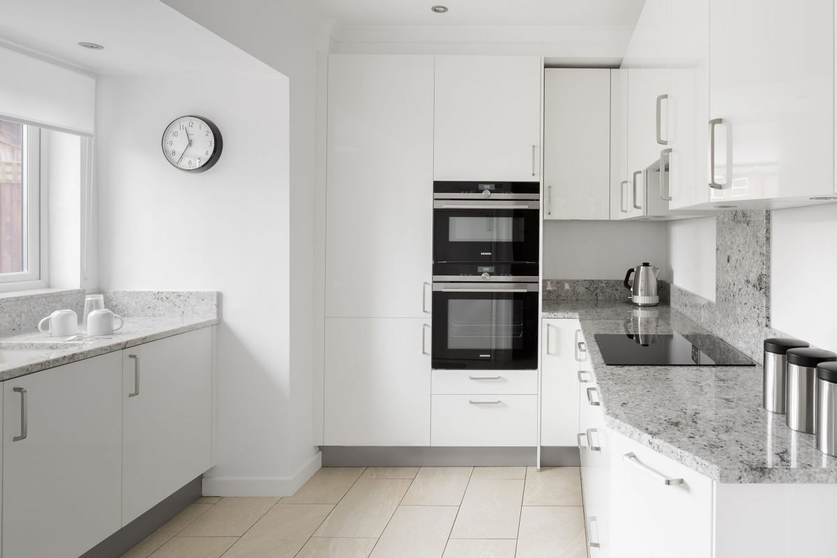 moortown fitted white kitchen