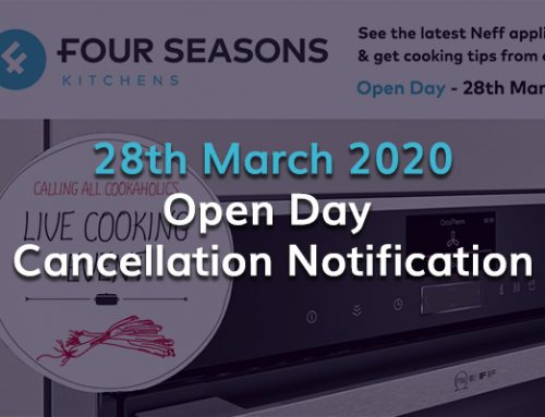 Open Day Cancellation – 28th March 2020