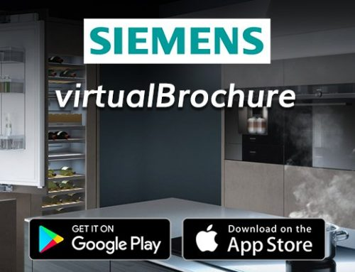 Siemens virtualBrochure Interactive 3D Augmented Reality App