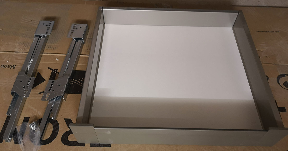 Fitted Kitchen drawers