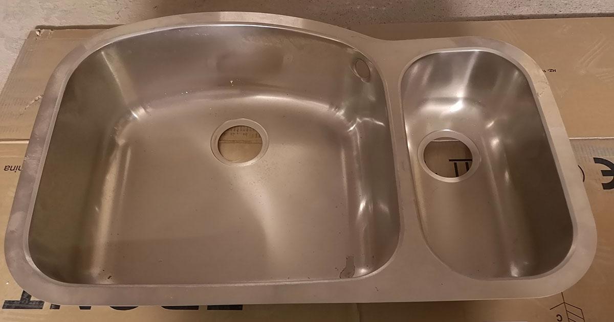 1.5 bowl Steel Kitchen Sink Leeds