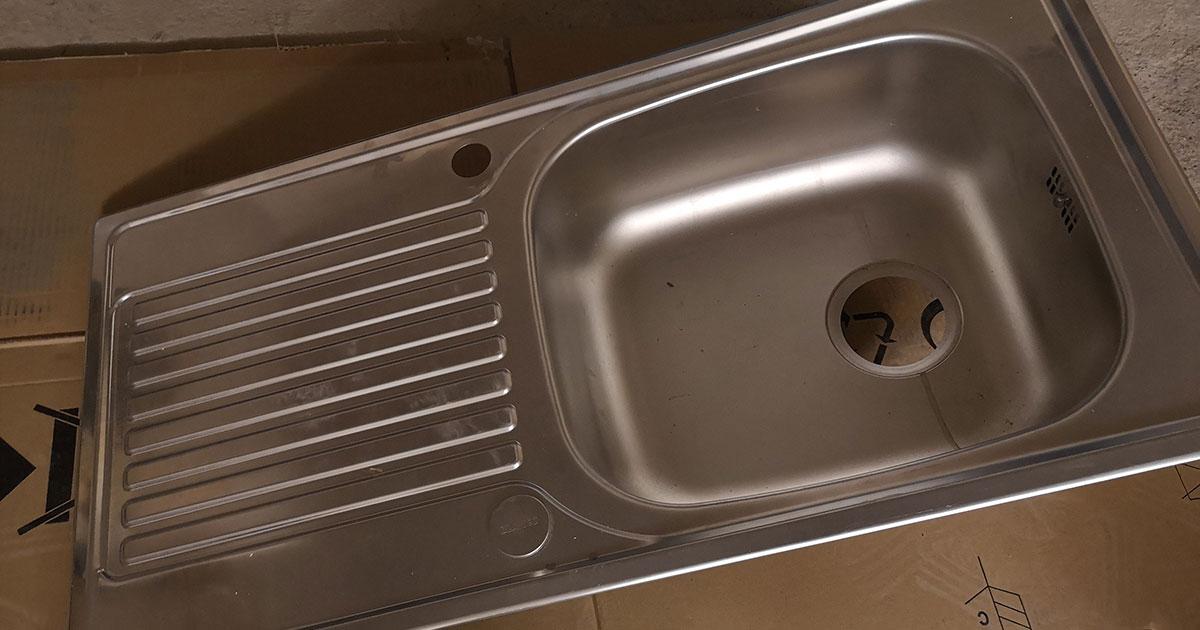 Inset Steel Kitchen Sink Leeds