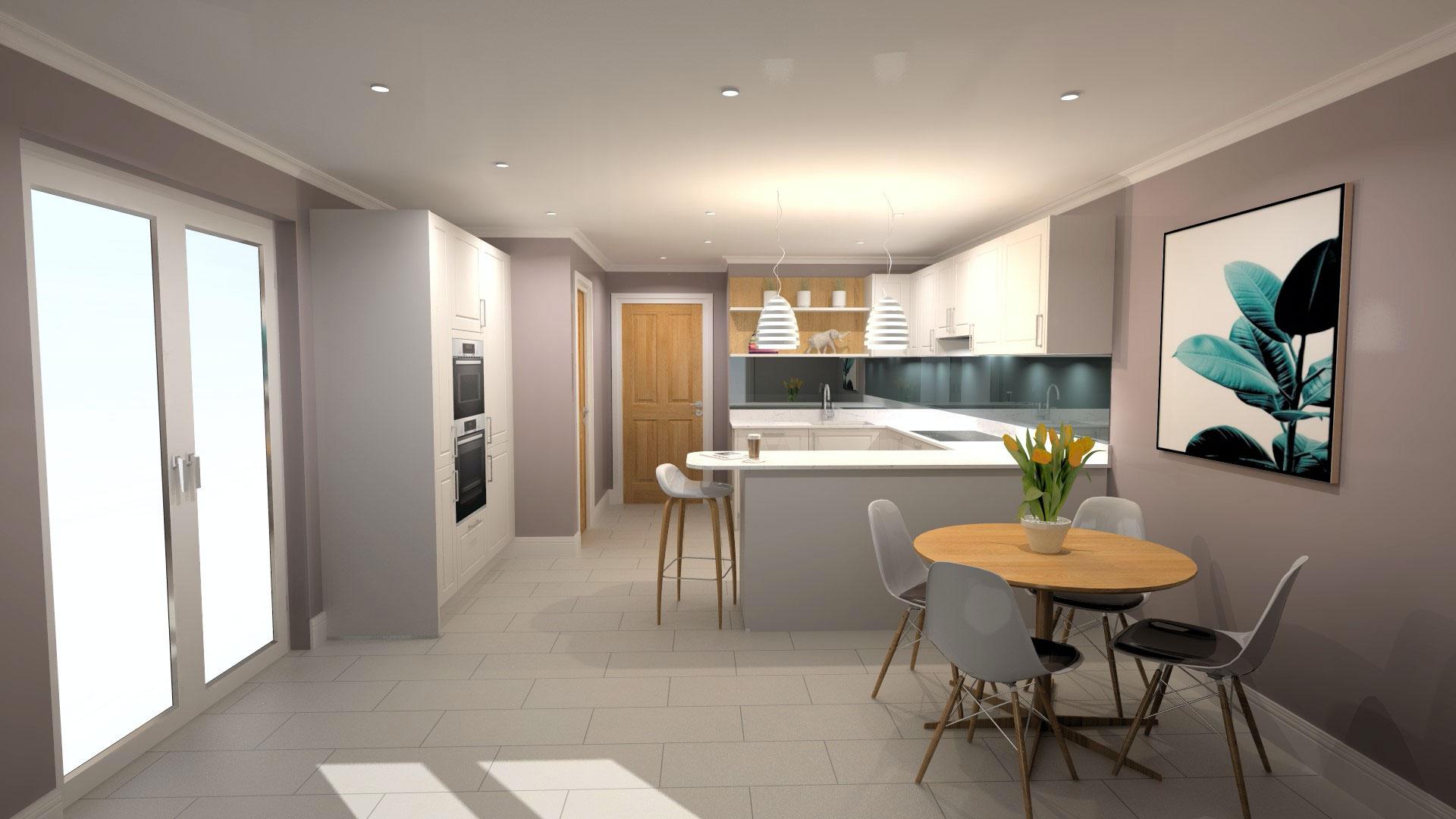 Amberstone Developments Sandgate house kitchen 3