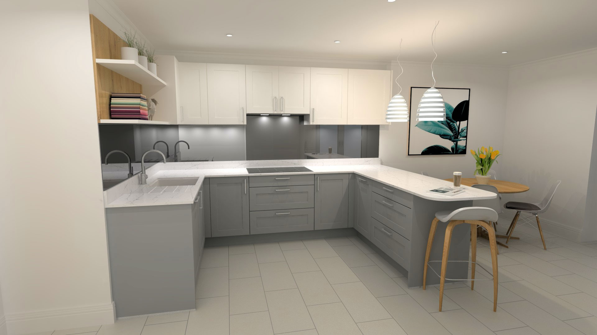 Amberstone Developments Sandgate house kitchen 2